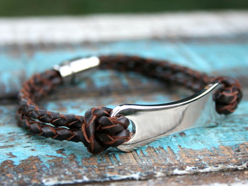 cheap engraved bracelets