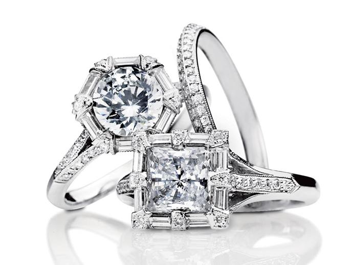 cheap tacori engagement rings