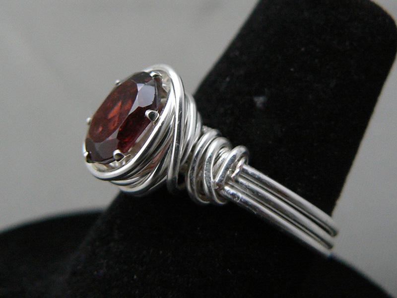 custom gemstone rings