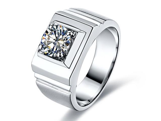 diamond men's wedding rings