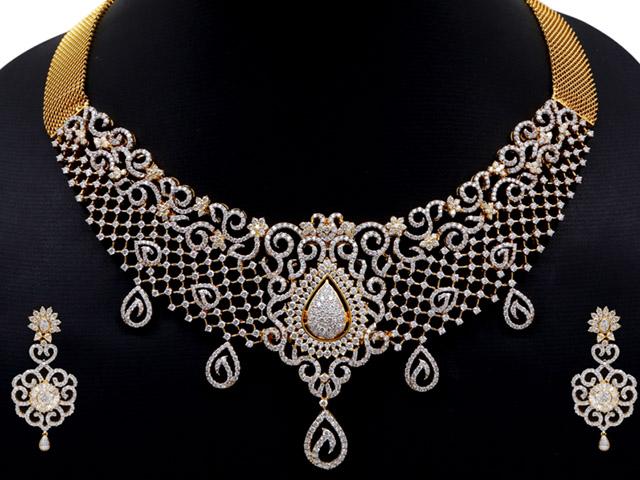 diamond necklaces designs