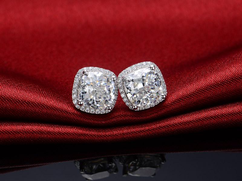 diamond stud earrings for women