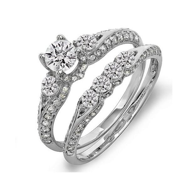engagement wedding rings sets