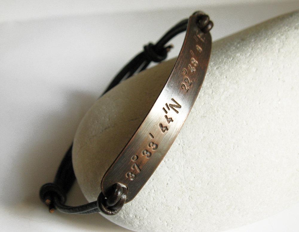 engraved bracelets for men