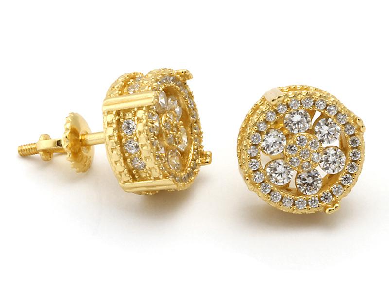 gold men's earrings