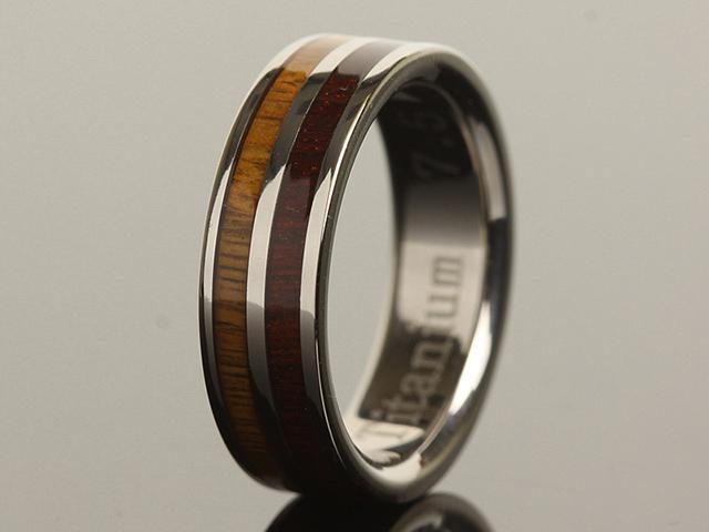 hawaiian titanium rings