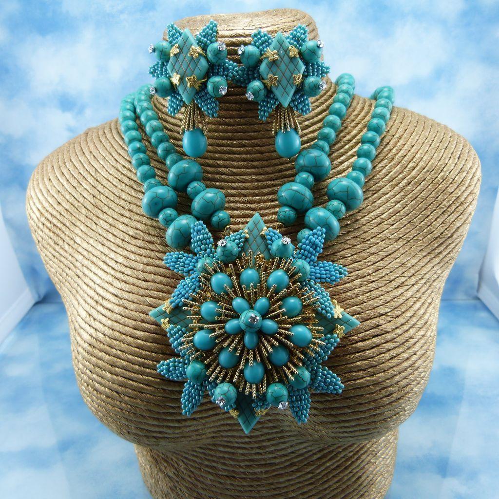 large statement necklaces