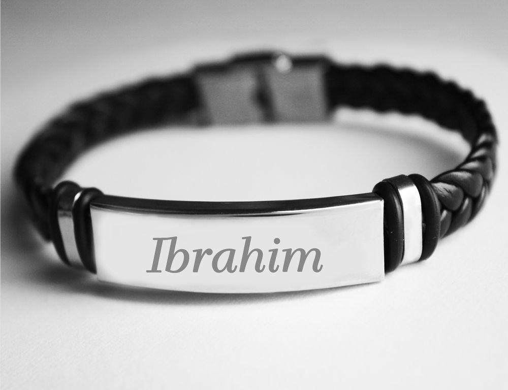 name engraved bracelets