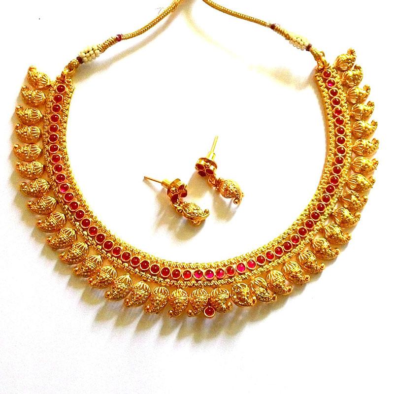 ruby necklace designs