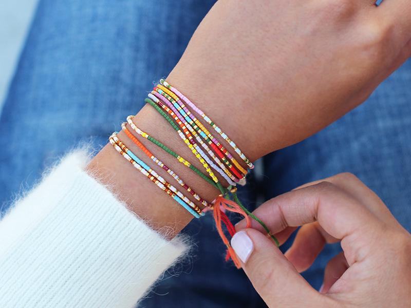 small beaded bracelets