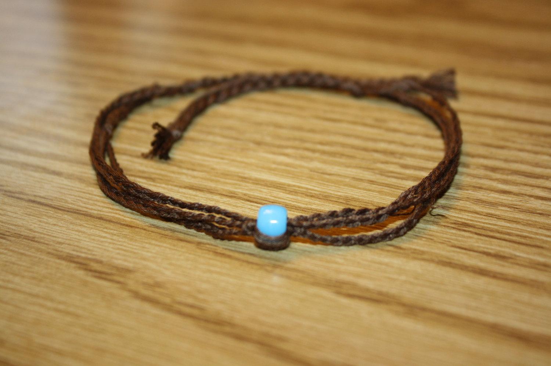 string ankle bracelets