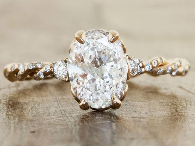 unique vintage engagement rings