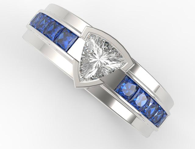 unique wedding rings for men